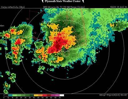 August Radar Loop Weather Brownsville Rain West