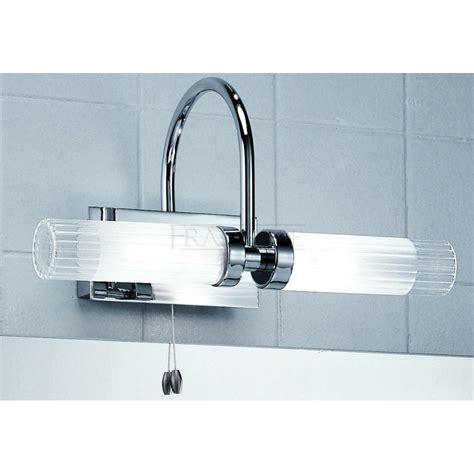Franklite Wb535 Chrome Overmirror Bathroom Light At