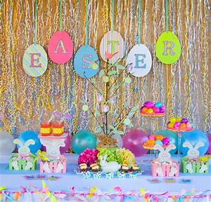 Easter Party Ideas - Oh My Creative