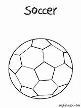 Coloring Pages Soccer Ball Balls Davidson Harley Popular sketch template