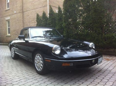 1994 Alfa Romeo Spider For Sale by 1994 Alfa Romeo Spider Veloce Commemorative Edition