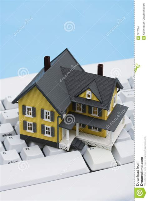 Online Real Estate Stock Images  Image 5877694