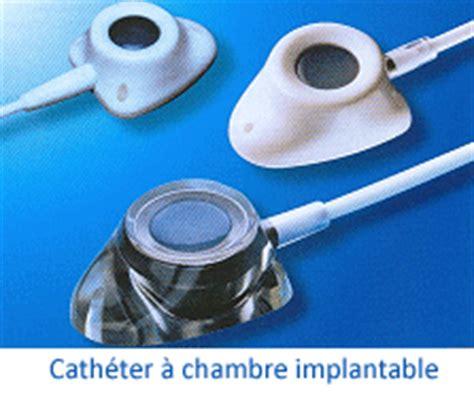chambre implantable pour perfusion pose du cathéter mon cancer ma nouvelle vie