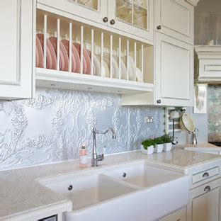 popular kitchen  beaded cabinets  distressed cabinets design ideas  july