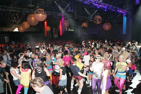 Attendees Flash Back To The '80s At The Gathering 2008