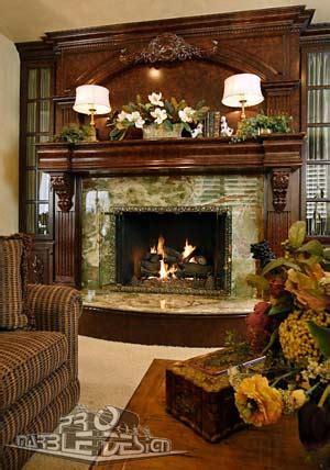 fireplace mantels wet bars marble  granite serving