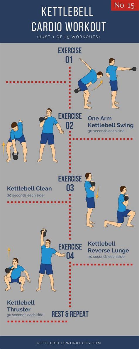 cardio kettlebell workout workouts exercises circuit kettlebellsworkouts complex