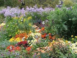 Plantes Vivaces Pour Massif : un massif d 39 automne opulent ~ Premium-room.com Idées de Décoration