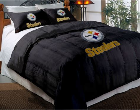 pittsburgh steelers nfl twin chenille embroidered