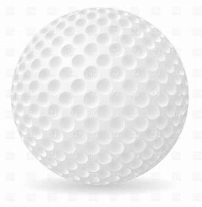 Golf ball with shadow, 19371, Objects, download Royalty ...
