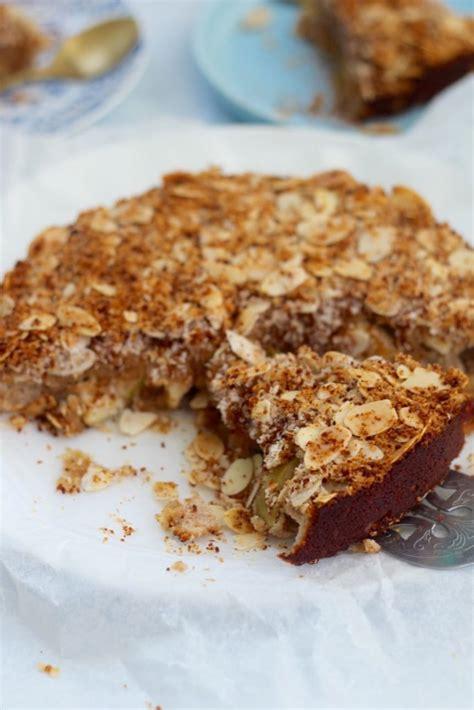 healthy apple tea cake tastes real good   nasties