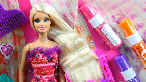 Barbie Hairtastic Color & Design Studio / Salon Fryzjerski