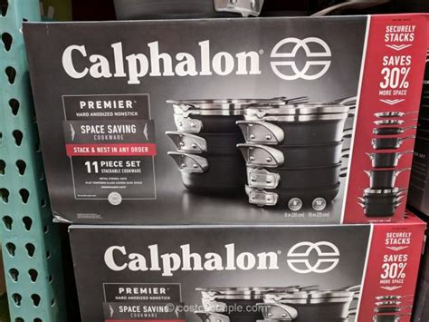 cookware calphalon saving space piece costco costcocouple vary subject pricing inventory change any