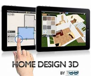 TouchMyApps Home Design 3D CAD For The Pad Video