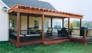 House Decks Designs Deck Designs Ideas The Interesting