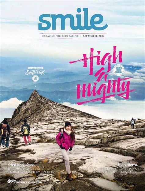 climbing mount kinabalu cebu pacific airlines smile