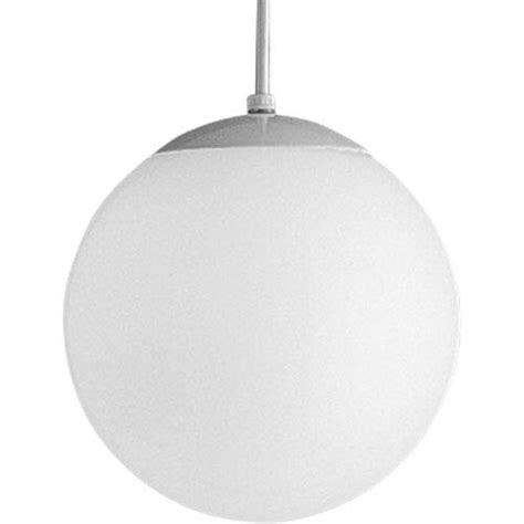 opal globes white 50 inch one light pendant with white