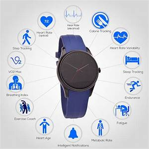 Cronovo Smartwatch With Optical Heart Rate Monitor Hits