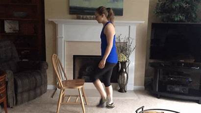 Workout Chair Lexi Nickens Using Step Minute