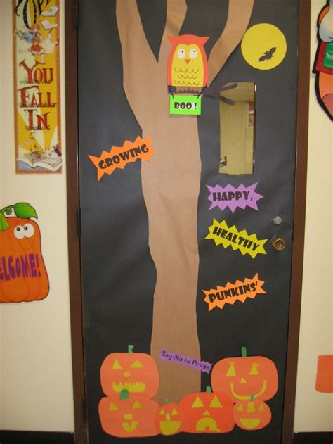 149 best ribbon week door decorating ideas images on 198 | 894800078a63bae765ed43a136bcf781 preschool halloween halloween door