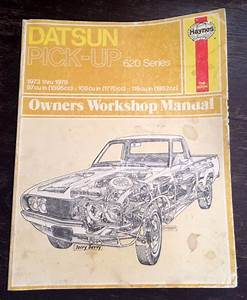 Details About Haynes Repair Manual  Datsun Pick