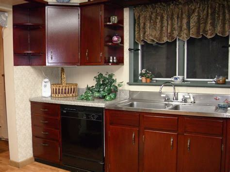 Staining Kitchen Cabinets With Bolder Color Amazing Home