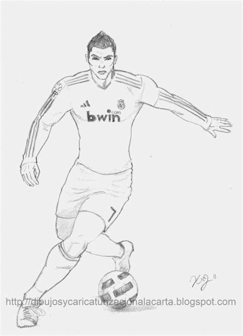 dibujos de jugadores de futbol famosos  pintar messi