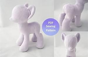 Pony Plush Pattern | www.imgkid.com - The Image Kid Has It!
