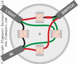 Light Junction Box Wiring