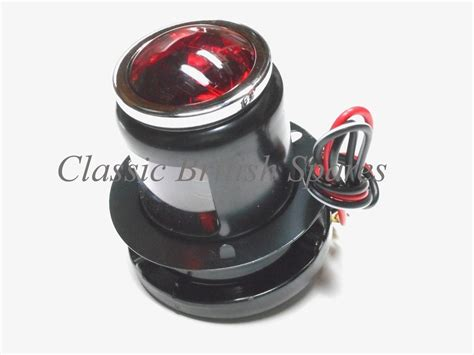 Lucas Type Early Rear Brake Tail Light Assembly Mt110