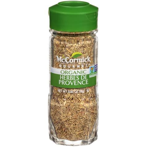 herbes de provence mccormick gourmet collection organic herbes de provence seasoning from mariano s instacart