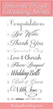 favorite script wedding fonts the graphics - Wedding Font