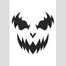 Free Printable Pumpkin Carving Templates  Partyrama Blog