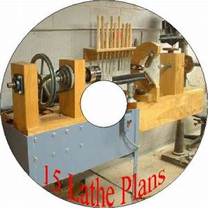 Sany wildan: Treadle lathe plans free