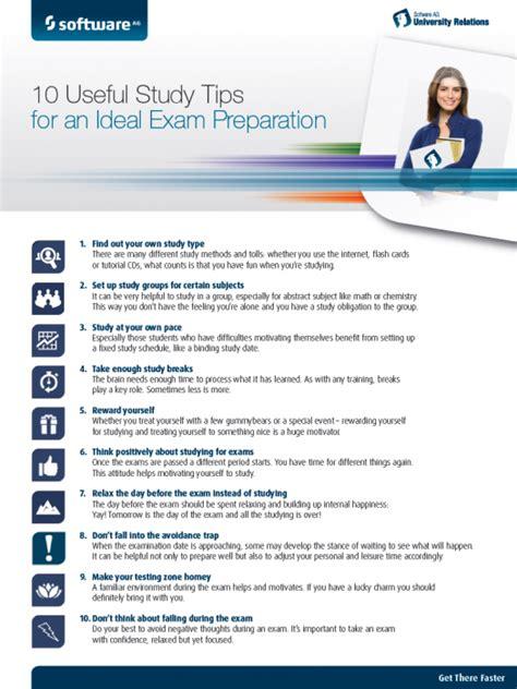 10 Useful Study Tips For An Ideal Exam Preparation  Aris Bpm Community