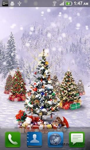 christmas  wallpapers  android lighten