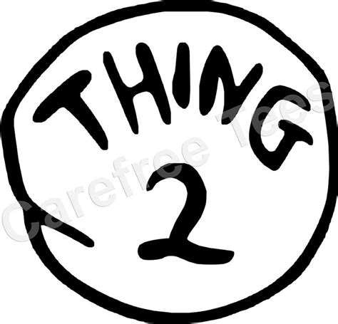 thing 1 template thing one thing two invitations thing 1 and thing 2 decals green house design ideas