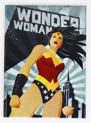 woman justice league fridge magnet dc comics batman superman