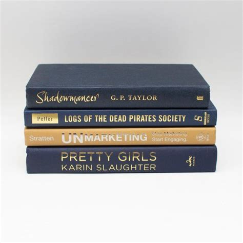 This modern coffee table brings a splash of glamour to any living room or office space. Navy Blue and Gold Modern Book Set Display   Mantel & Shelf Decorative Stack for Home Office ...