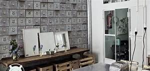 Papier Peint Style Industriel : des papiers peints retro ma d coration maison ~ Dailycaller-alerts.com Idées de Décoration