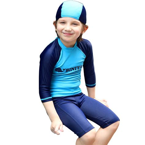 In 5 Introductory Offer Children 39 S Clothes Boys Sleeve Tops Trunks Uv 50 Sun