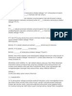 perjanjian kontrak konsorsium