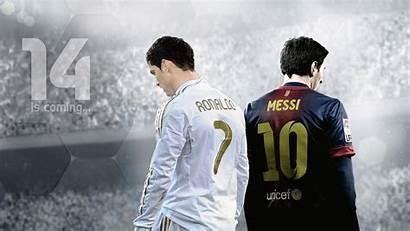 Messi Ronaldo Wallpapers Wall Fifa