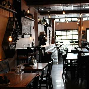 Inside Pitch Pizzeria  A Modern  Industrial Eatery