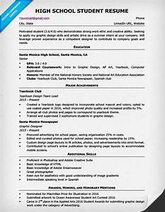 high school resume template writing tips resume companion With how to make a high school resume
