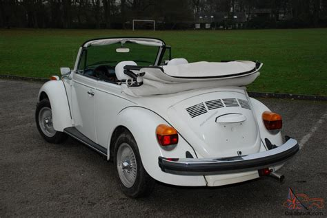 white convertible volkswagen vw beetle triple white convertible