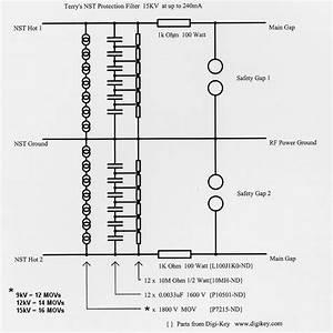 Mini Tesla Coil Circuit Diagram