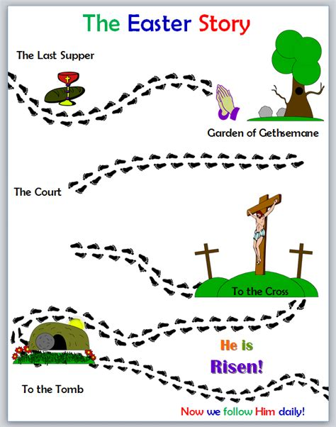 activity packet the easter story following jesus 393 | easter activity
