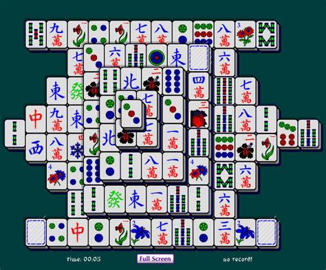mahjong solitaire windows 7 screenshot windows 7