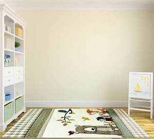 Tapis Pour Chambre Enfant : tapis pour chambre d 39 enfant cr me acapulco ~ Melissatoandfro.com Idées de Décoration